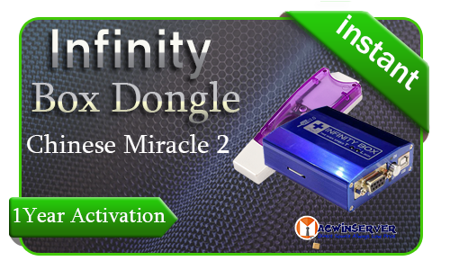 Infinity Box Dongle CM2 1 Year Activation